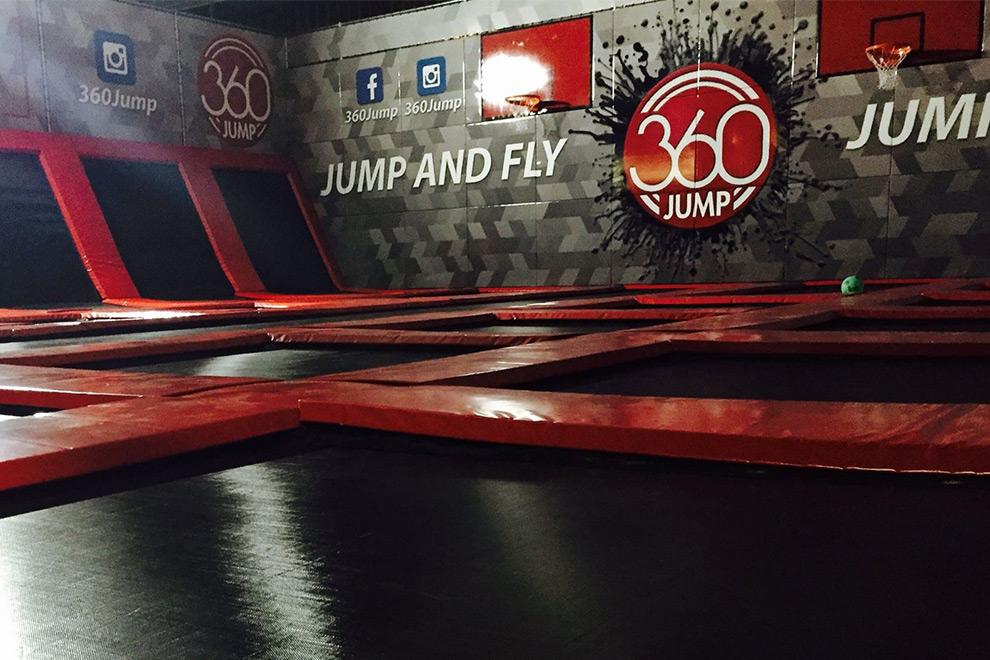 360jump Trampolinhalle